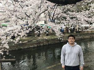 History student Ken studies abroad in Japan.
