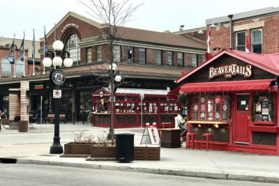 This is a picture of the Bevertails location in Ottawa's ByWard Market.