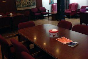 Humanities Lounge seating area