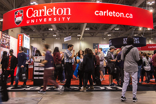 Learn more about: Visit Carleton at the Ontario Universities' Fair