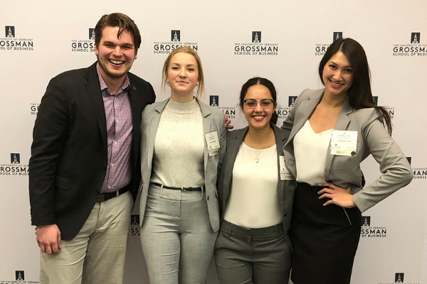 Image for the story Sprott students win the Global Family Enterprise Case Competition