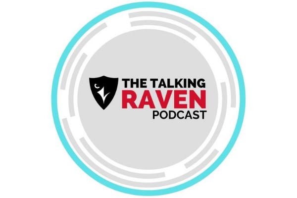 The Talking Raven logo