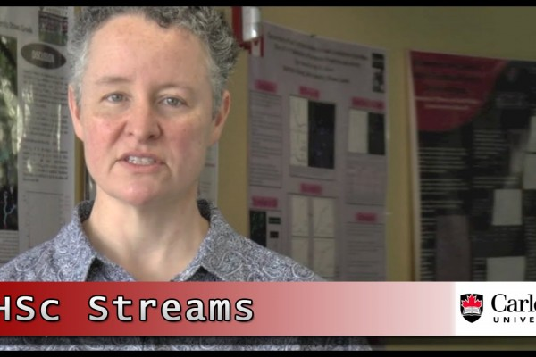 Watch Video: Carleton University's Bachelor of Health Sciences Streams
