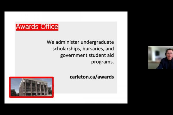 Watch Video: CU at Home Webinar Series: Awards and Financial Aid