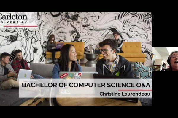 Watch Video: CU at Home Webinar Series: Computer Science Q&A