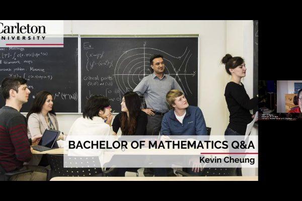 Watch Video: CU at Home Webinar Series: Mathematics Q&A