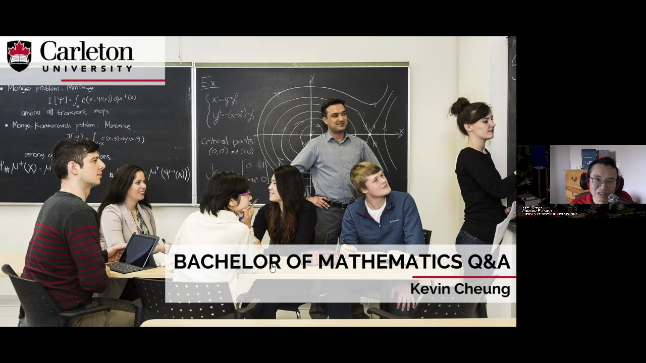 Watch Video: CU at Home Webinar Series: Mathematics Q&A