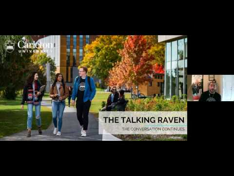 Watch Video: CU at Home Webinar Series: The Talking Raven – The conversation continues