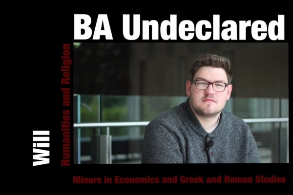 Watch Video: From Undeclared to Double Major: Will's Carleton Experience