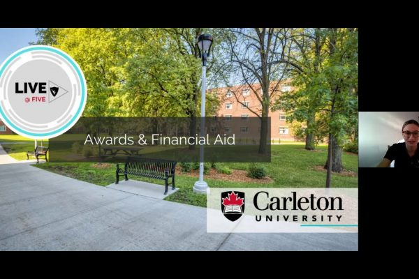 Watch Video: Live at Five: Awards and Financial Aid