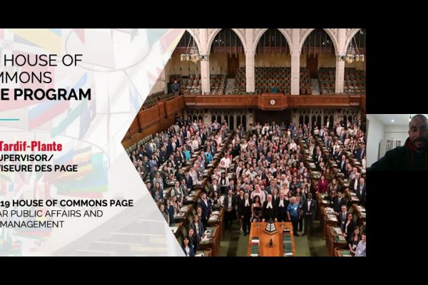 Watch Video: Live at Five: House of Commons Page Program