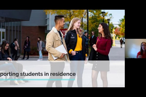 Watch Video: Live at Five: Housing and Residence Life Services