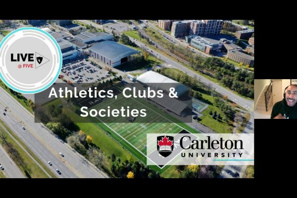 Watch Video: Live at Five: Introduction to Athletics, and Clubs and Societies