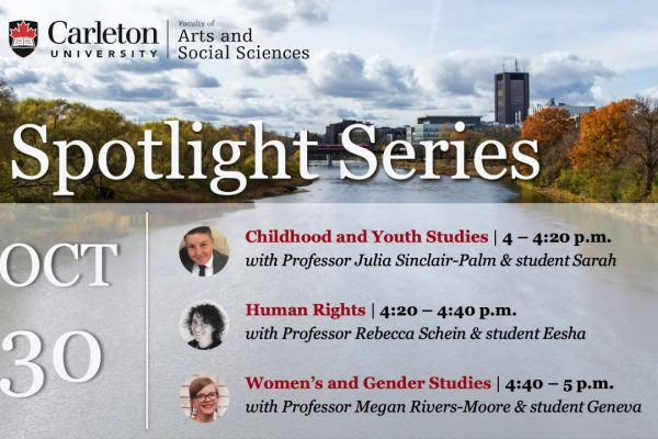 Watch Video: Program Spotlight: Childhood and Youth Studies, Human Rights, Women's and Gender Studies