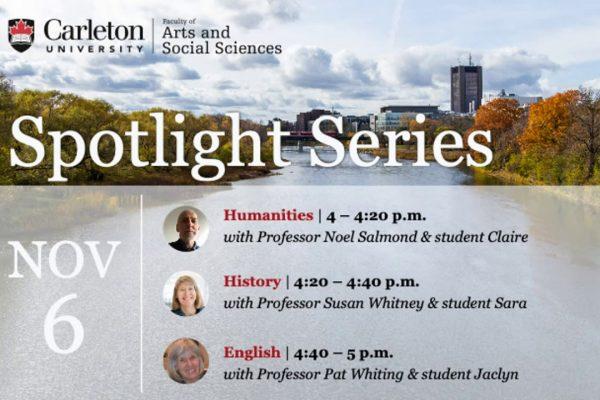 Watch Video: Program Spotlight: English, Humanities, and History
