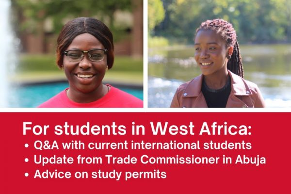 Watch Video: Q&A with current students + advice for students in West Africa