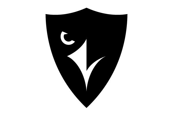 Carleton University Ravens logo.