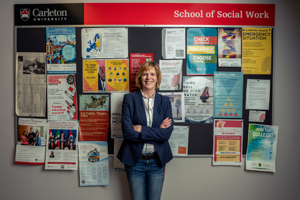 Image for the story Social Work Professor Sarah Todd Wins 3M Teaching Fellowship