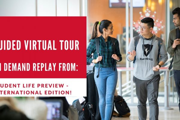 Watch Video: Welcome to Campus: Guided Virtual Tour